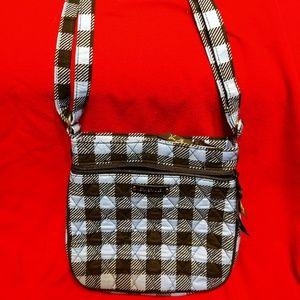 Vera Bradley Small Hipster Crossbody Purse Bag